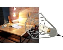 Lampa stołowa 1xE27 szary diament