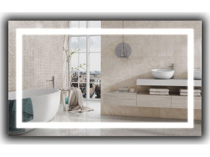 Lustro Livia Lustro podświetlane Ścienne Prostokątne Kolor Srebrny