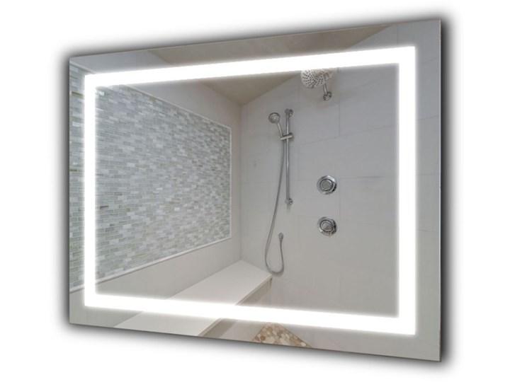 Lustro Livia Prostokątne Lustro podświetlane Kategoria Lustra Ścienne Kolor Srebrny