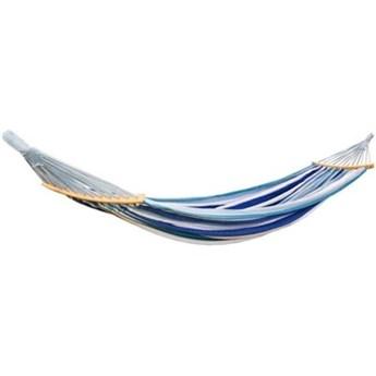 Hamak ROYOKAMP Luxe XXL 250x150 cm Niebieski
