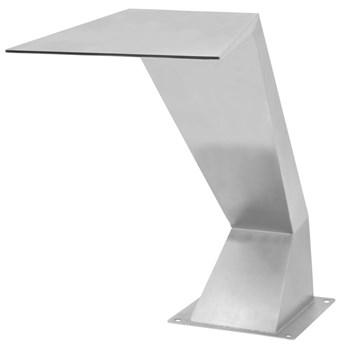 VidaXL Fontanna do basenu, stal nierdzewna, 64 x 30 x 52 cm, srebrna