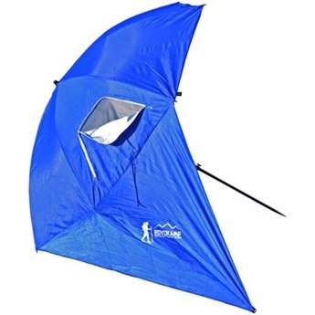 Parasol plażowy ROYOKAMP XXL 240 cm Niebieski