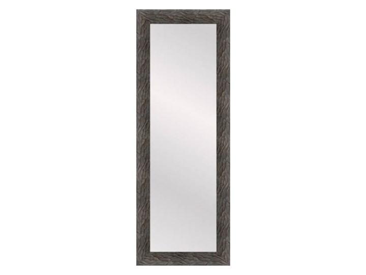 Lustro prostokątne Borne 35 x 120 cm w ramie brązowe Ścienne Lustro z ramą Pomieszczenie Garderoba Kategoria Lustra