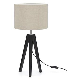 Lampa stołowa LUNDEN 1L Czarny/Beżowy 107944 Markslöjd 107944