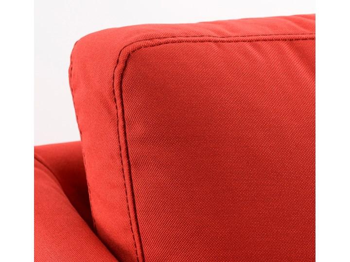 BRATHULT Narożnik z funkcją spania Szerokość 140 cm Szerokość 212 cm Wysokość 69 cm Stała konstrukcja W kształcie L Typ Gładkie Kolor Czerwony