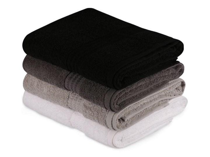 WEBHIDDENBRAND Hobby zestaw ręczników Bath 4 szt., białe/szare/czarne