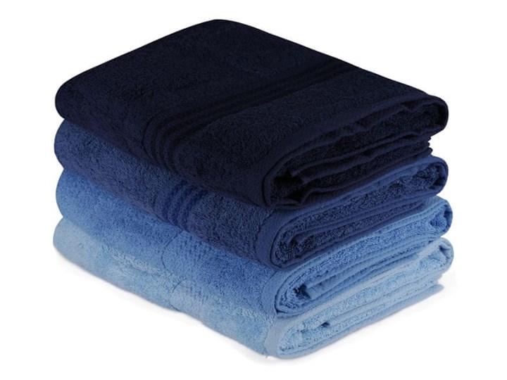 WEBHIDDENBRAND Hobby zestaw ręczników Bath 4 szt., niebieskie