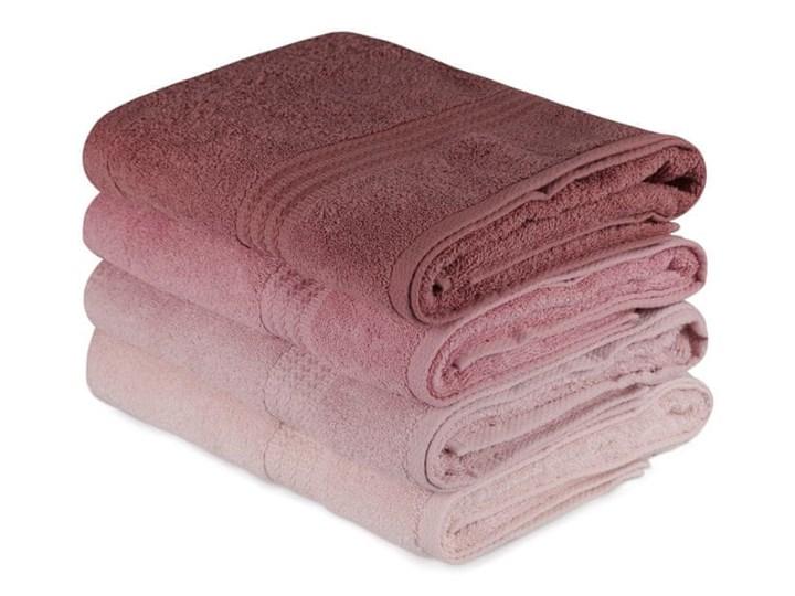 WEBHIDDENBRAND zestaw ręczników Hobby Bath 4 szt., różowe