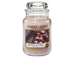 Yankee Candle Świeca w szklanym słoju Świeca Yankee, Heban i dąb, 623 g