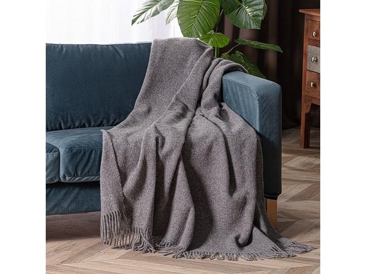 Pled Zelandia 140x200cm melange grey, 140 x 200 cm 130x180 cm 140x200 cm Wełna Pomieszczenie Salon
