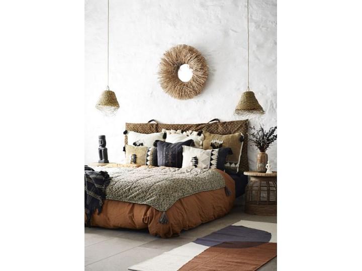 Madam Stoltz - Poszewka na poduszkę Bohemian 60x60 cm Poszewka dekoracyjna Bawełna Kwadratowe Kolor Brązowy
