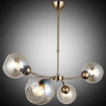 Nowoczesna lampa wisząca patyna 1493-52-04-L POZA SALON SYPIALNIA JADALNIA LUCEA STL