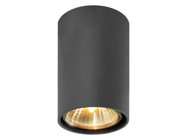 Halogenowa lampa sufitowa E402-Simbi - czarny Oprawa halogenowa Okrągłe Oprawa stropowa Kategoria Oprawy oświetleniowe Kolor Szary