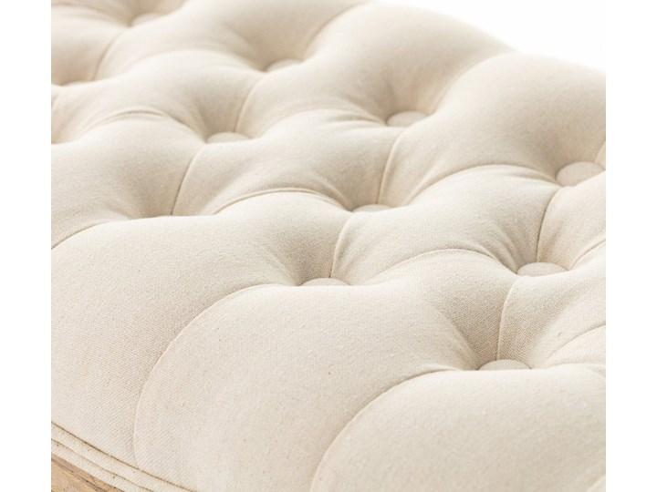 Ławka  Isacco cream 114x38x48cm, 114 × 38 × 48 cm Pikowana Pomieszczenie Sypialnia