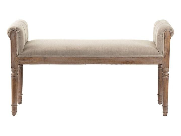 Ławka Versa 106 x 41,5 x 60 cm, 106 x 41,5 x 60 cm Z podłokietnikiem Materiał obicia Tkanina