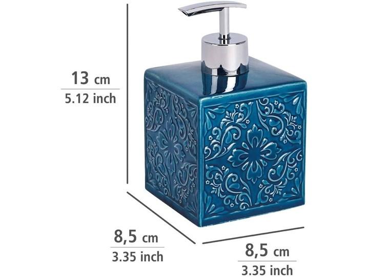 Dozownik do mydła CORDOBA DARK BLUE - 500 ml, WENKO