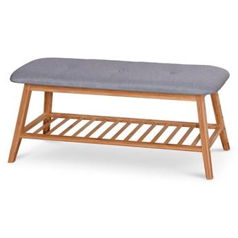 Ławka do przedpokoju z drewna bambusowego ST15