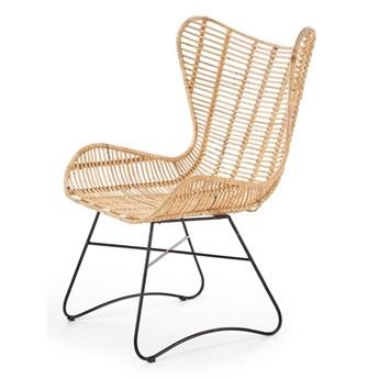 SELSEY Krzesło Liera z naturalnego rattanu