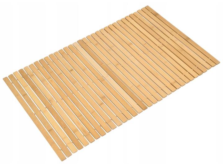 Mata bambusowa Silva 50cm x 80 cm Kolor Beżowy