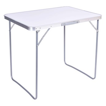 Stół turystyczny CORN kempingowy składany 80x60 cm biały