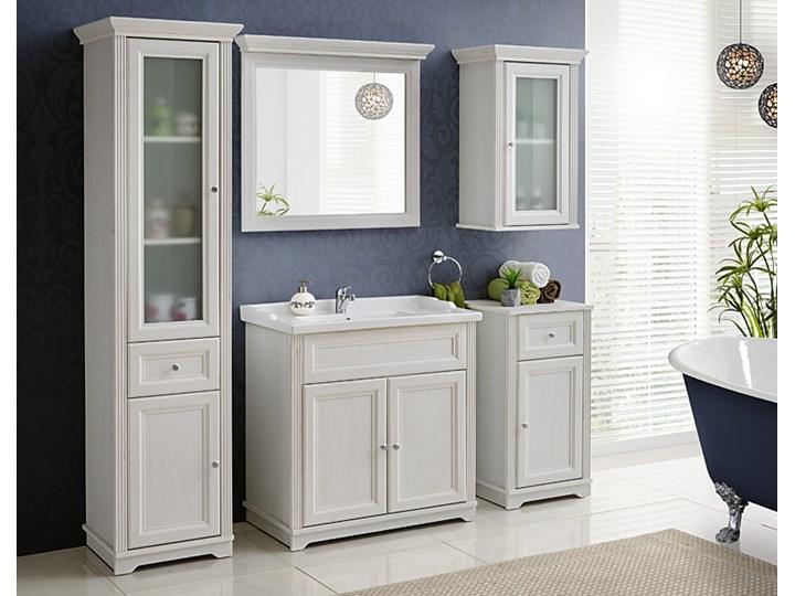 Umywalka ceramiczna meblowa Kington 3X Prostokątne Ceramika Kategoria Umywalki Meblowe Kolor Biały