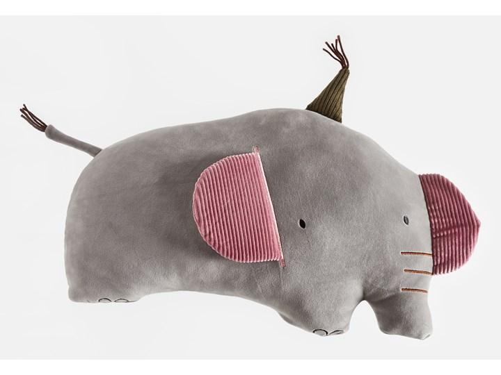 Sinsay - Poduszka słoń - Jasny szary Nieregularne Poduszka dekoracyjna Pomieszczenie Pokój przedszkolaka