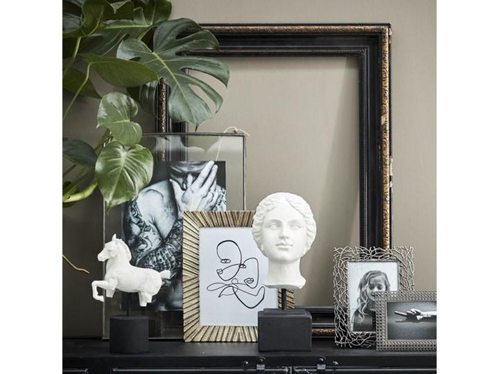 FIGURKA DEKORACYJNA GŁOWA ANTYCZNA HELENA 12,5x13xh35cm Kamień Kategoria Figury i rzeźby Kolor Biały
