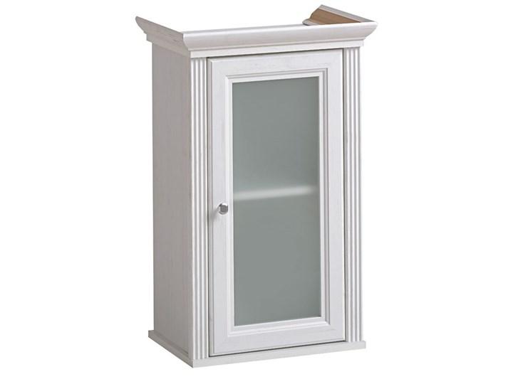 Komplet mebli do łazienki Vermont 80 - shabby shic Kategoria Zestawy mebli łazienkowych Kolor Biały