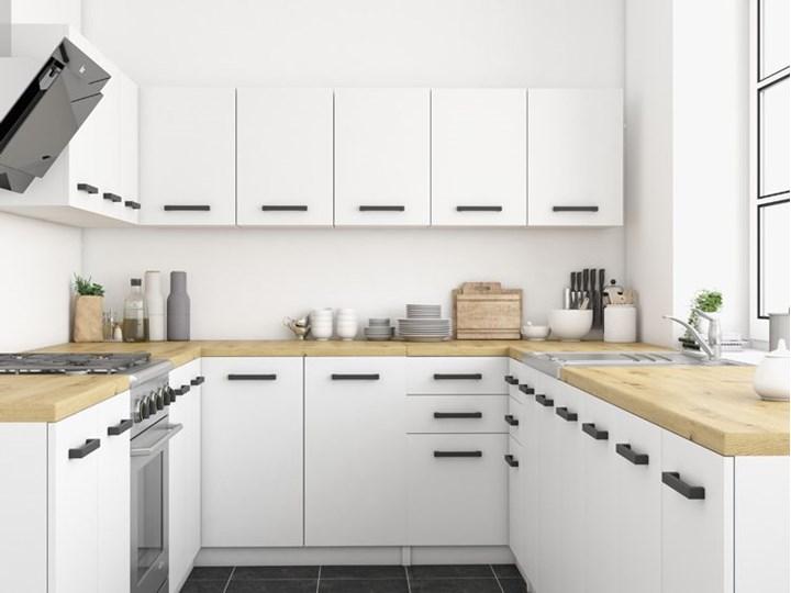 Szafka do kuchni ścienna Stejar 7X - biały mat