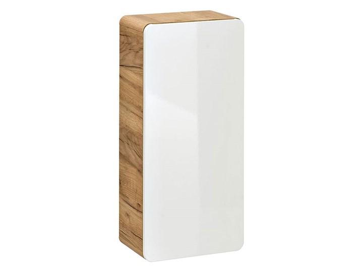Zestaw podwieszanych mebli łazienkowych Borneo 3Q 80 cm - Biały połysk Kategoria Zestawy mebli łazienkowych
