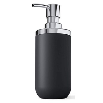 Dozownik na mydło 300ml Umbra Junip srebrno-czarny mat kod: 1008027-152