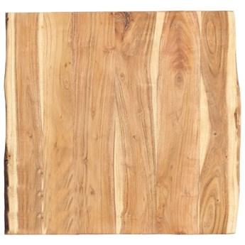 VidaXL Blat, lite drewno akacjowe, 60x(50-60)x3,8 cm