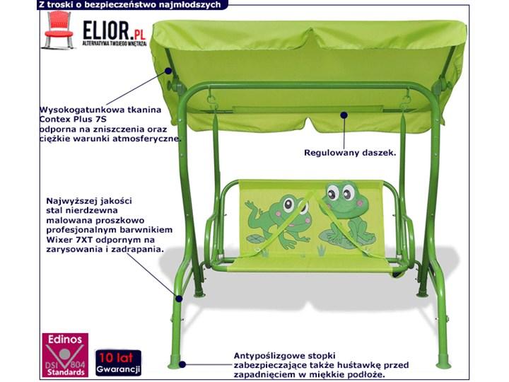 Huśtawka dla dzieci Fino - Żabka Tworzywo sztuczne Trapez Kategoria Huśtawki dla dzieci
