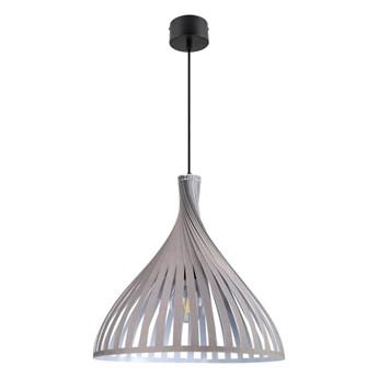 Lampa wisząca GoodHome Crozon 1-punktowa E27 taupe / szara