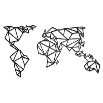 Geometryczna mapa konturowa świata