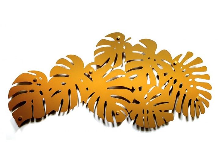 Dekoracja, liście Monstera 3D