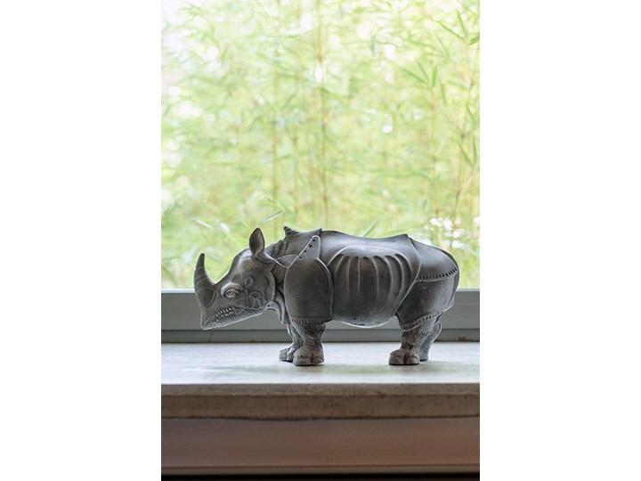 Rhinoceros LOFTLIGHT Kamień Rośliny Drewno Metal Beton Zwierzęta