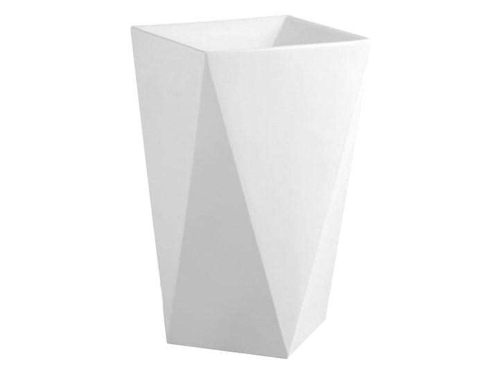 VELDMAN MONOLITYCZNA UMYWALKA WOLNOSTOJĄCA ROCK Kategoria Umywalki Podwieszane Wolnostojące Szerokość 46 cm Ceramika Kolor Biały