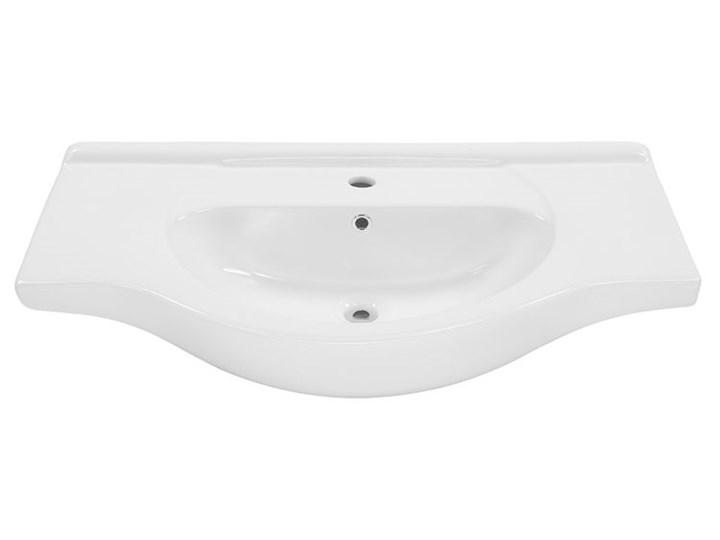 Umywalka ceramiczna meblowa Romanza 3X Meblowe Ceramika Półokrągłe Kategoria Umywalki Kolor Biały