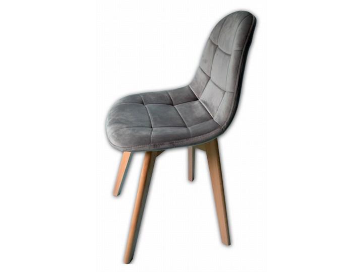 KRZESŁO WESTA WELUROWE VELVET SZARE Krzesło inspirowane Wysokość 50 cm Szerokość 47 cm Wysokość 84 cm Tkanina Głębokość 38 cm Tapicerowane Kategoria Krzesła kuchenne