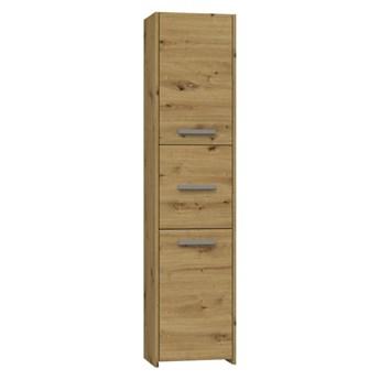 Szafka łazienkowa, słupek z półkami 170x40 artisan