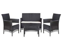 Komplet kawowy na taras, fotele + sofa + stolik