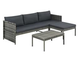 Komplet mebli wypoczynkowych do ogrodu, narożnik + stolik