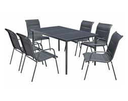 Stół ogrodowy z krzesłami, komplet jadalniany na taras