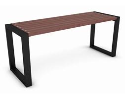 Drewniany stół ogrodowy 180 cm orzech