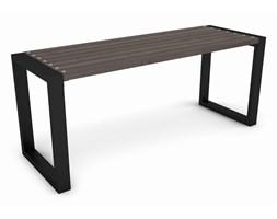 Duży stół tarasowy, ogrodowy drewniany, 180 cm palisander