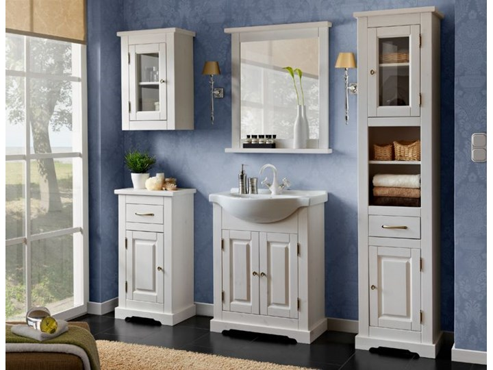Zestaw drewnianych szafek łazienkowych Dorset 85 Kategoria Zestawy mebli łazienkowych