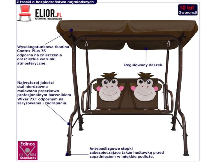 Huśtawka ogrodowa dziecięca Fino - małpka Metal Kategoria Huśtawki dla dzieci
