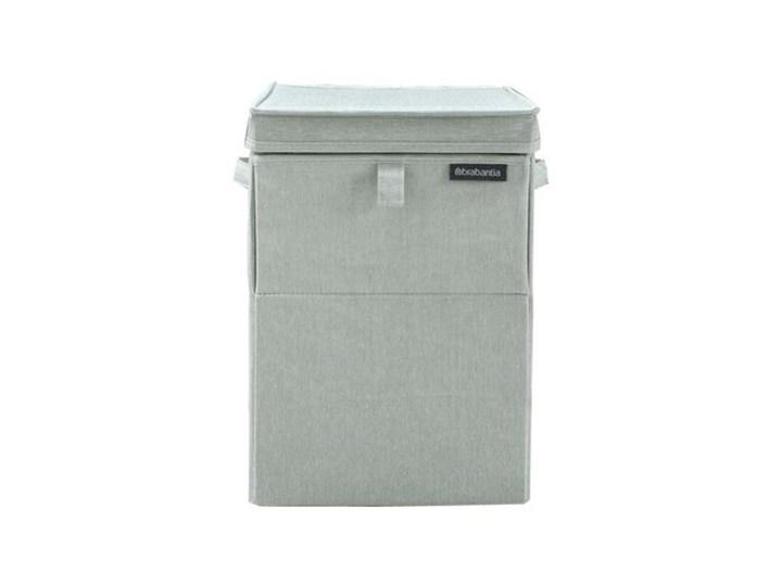 Kosz na pranie BRABANTIA 120466 LaundryToGo 35 l Zielony Tworzywo sztuczne Tkanina Drewno Kategoria