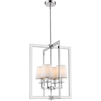 Lampa wisząca London Silver/White 4L 44x150cm Cosmo Light